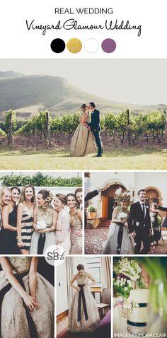 Vineyard Glamour Wed