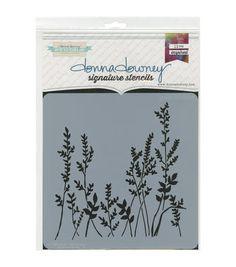 Donna Downey Signature Stencils-Grass
