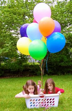 Hot Air Balloon Ride imaginative play