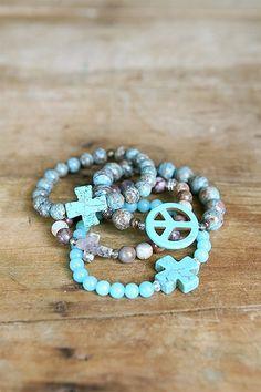 Liv-N-Grace Jewelry - Turquoise Small Liv-N-Grace Bracelet