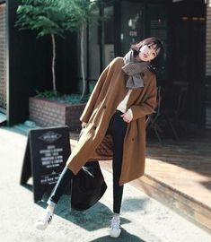 【搭配】『低调中的高调』穿搭 l 高贵的卡其穿搭 l KHAKI CAMEL FASHION #KoreanFashion