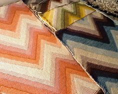Merida - Celerie Kemble collection. Chevron in five colorations.