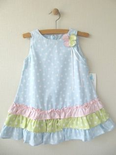 Diy Crafts - Little Girls Clothing Stores Online Frocks For Girls, Dresses Kids Girl, Little Girl Outfits, Little Girl Dresses, Kids Outfits, Kids Frocks Design, Baby Frocks Designs, Girls Clothing Stores, Baby Dress Design