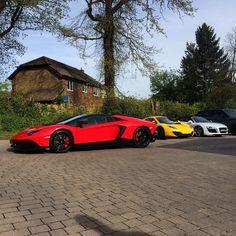 #Lamborghini #Aventador Roadster #LP720-4 #50thAnniversary #McLaren #12cSpider #Audi #R8