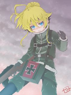 Otaku Anime, Anime Art, Guerra Anime, Tanya Degurechaff, Very Beautiful Images, Tanya The Evil, Hooked On A Feeling, Super Anime, Comic Games