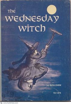 The Wednesday Witch Ruth Chew Rare Halloween Scholastic printing sc rare Good Books, Books To Read, My Books, Teen Books, Witch Series, Halloween Books, Vintage Halloween, Victorian Halloween, Halloween Eve