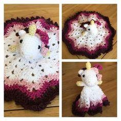 Mesmerizing Crochet an Amigurumi Rabbit Ideas. Lovely Crochet an Amigurumi Rabbit Ideas. Crochet Unicorn Blanket, Crochet Security Blanket, Crochet Unicorn Pattern, Crochet Baby Blanket Beginner, Crochet Lovey, Manta Crochet, Crochet Blanket Patterns, Crochet Dolls, Free Crochet