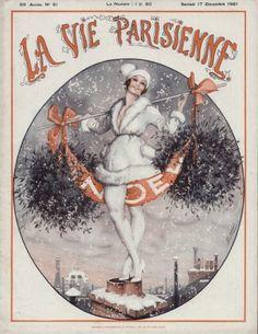 La Vie Parisienne, 1921. Noel.