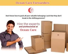Don't know how to #pack all your valuable belongings such that they don't break in the #shifting process? Ocean care forwarders pvt ltd