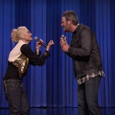 The Voice coaches each competed against Fallon in an amazing lip sync battle on the 'Tonight Show.' i LOVE GWEN SO MUCH!