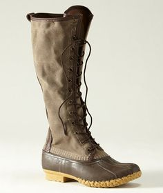 [room in my boot closet for these llbean AND the sorel boots] yep