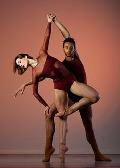 Drew Jacoby and Rubinald Pronk. Photo by Marty Sohl for Dance Magazine.