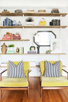 Shelves with bracket