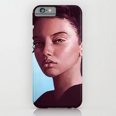 Portrait Painting - Iphone Case #art #painting #drawing #illustration #iphone #case #skin #smartphone #apple #gift #idea #present #portrait #girl #woman #face #human #tomcii Quartz Watches, Art Blog, Wine Glass, Smartphone, Iphone Cases, Drawing, Portrait, Store, Illustration