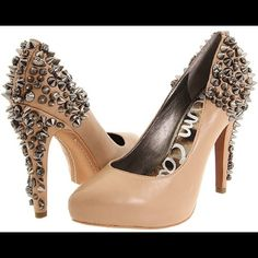 Nude Sam Edelman studded heels size 9 Nude Sam Edelman studded heels, almost new condition, size 9. Box not included. Sam Edelman Shoes Heels