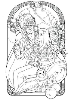 labyrinth COLORING PAGES Google Search Coloring