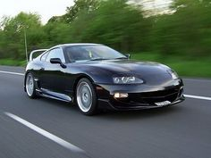 Ah the Toyota supra my future toy for me Sexy Cars, Hot Cars, My Dream Car, Dream Cars, Toyota Tundra, Toyota Tacoma, Toyota Supra Mk4, Japanese Domestic Market, Car Tuning