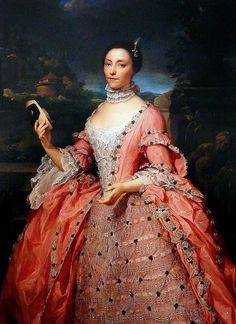 Portrait of Lady Vincent of Stoke D'Abernon by Antón Raphael Mengs 1753