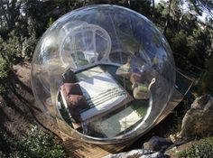 Bubble Hotels: Spacious Spherical Retreats Set in Nature
