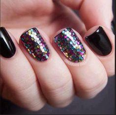 Glitter nagels bij Fashionaddictx0