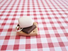 Fun Food Charm... Smore by JoyfulCreationsArt on Etsy, $12.00