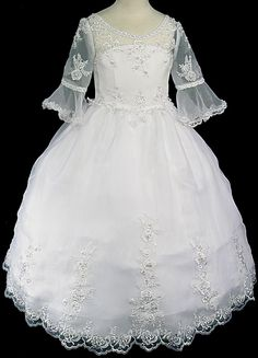 "1st communion ""Juliet"" dress.omg so pretty! I guess we'll see what Natalie likes though...."
