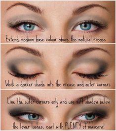 26 Trendy Makeup Tutorial Eyeshadow Hooded Eyelids Droopy Eyes – make-up ideen Makeup For Droopy Eyelids, Eyeshadow For Hooded Eyes, Smokey Eyeshadow, Best Eyeshadow, Makeup Eyeshadow, Eyeshadow Palette, Small Eyelid Makeup, Natural Eyeshadow, Gel Eyeliner