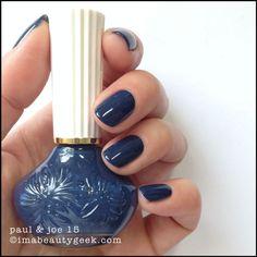 "I'm a Beauty Geek:  Paul & Joe ""Indigo Blues"""