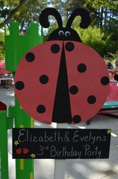 Ladybug Themed Birthday Party (lots & lots of pic) - OCCASIONS AND HOLIDAYS