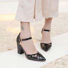Black Bridal Party Shoes [VIVIDRESS10214] - R1314 : vividress.co.za Black Bridal Parties, Bridal Party Shoes, Color Combinations, Formal, Color Combos, Preppy, Colour Combinations, Colour Schemes