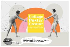 Collage Poster Creator: Summer edit by New Tropical Design on Poster Creator, Creative Market, Creative Flyers, Web Design, Graphic Design Trends, Design Layouts, Flyer Design Templates, Flyer Template, Colors
