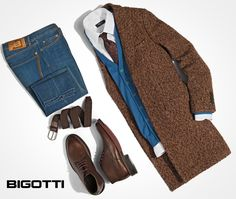#Mix #shades of #blue & #brown for a #remarkable , #sophisticated #look !  www.bigotti.ro   #Bigottiromania #moda #stil #mensfashion #ootd #ootdmen #followus #mensclothing #menswear #style #maro #albastru #followus