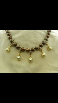 Chocolate Pearls! #pcjeweler #bartonclay