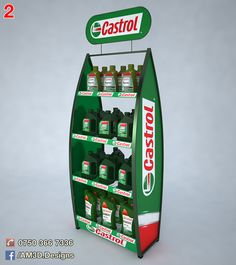 Castrol Display on Behance