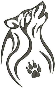 Tribal Wolf Tattoo, Wolf Tattoo Design, Wolf Design, Design Design, Animal Drawings, Wolf Drawings, Wolf Sketch, Scroll Saw Patterns Free, Laser Art