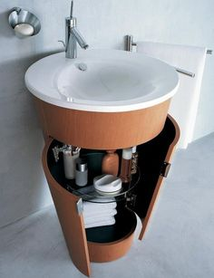 This 'Duravit' Vanity is a Ceramic Space Saver in Any Bathroom trendhunter.com