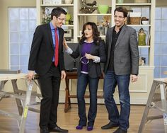 Why are Jonathan & I struttin' our safety glasses with Marie Osmond ? Watch Marie tomorrow at 12/11c :)