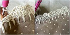 Crochet with Kate: pretty crochet edgings on the LoveCrochet blog