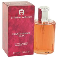 Etienne Aigner Private Number 100ml/3.4oz Eau De Toilette Perfume Spray for Her