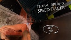 Therme Erding Speed Racer (Red Duel Waterslide) 360° VR POV Onride Speed Racer, Water Slides, Vr