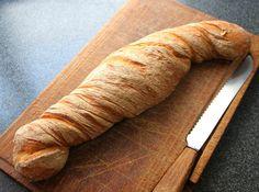 Chnurzelbrot ~ a Swiss baguette style bread worth baking!