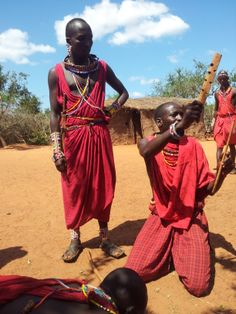 Il rito Masai del fuoco