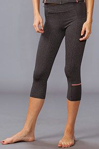 SOLOW Novelty Crop Pants