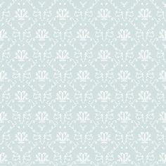 French Toile Wallpaper | Bleu French Toile Wallpaper | A beautiful scent every day | Dolls ...