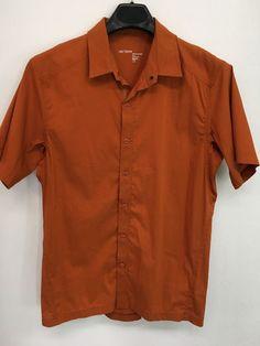 Mens xl patagonia organic cotton polo shirt brown casual outdoor ... fca083521afbf