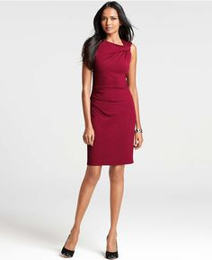 Thumbnail Image of Primary Image of Pleat Shoulder Dress