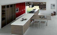 Cucina penisola estraibile (Foto 19/40) | Designmag