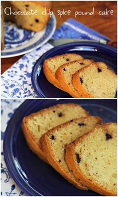Chocolate chip spice pound cake recipe, for Julia Child's birthday ...