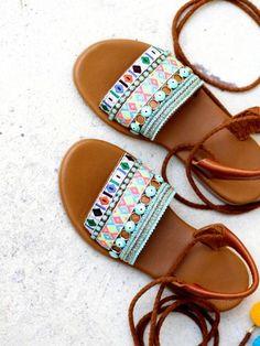358d00d2369 SHOES :: Shop sandals - Elina Linardaki - Artisanal Leather Sandals.  Σανδάλια