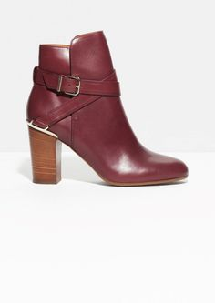 & Other Stories | Strap Ankle Boots